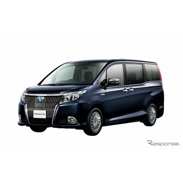 トヨタ自動車は、『エスクァイア』に特別仕様車「Gi ブラック-テイラード」を設定し、1月6日より販売を開始...