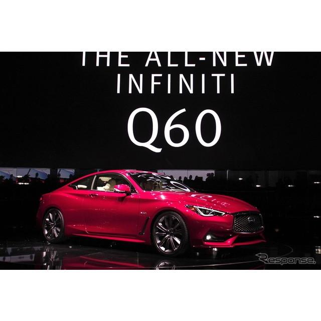 日産自動車の海外向け高級車ブランド、インフィニティは1月11日、米国で開幕したデトロイトモーターショー1...
