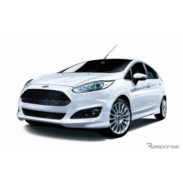 フォードジャパンは、コンパクトカー『フィエスタ』に特別仕様車「フィエスタ 1.0 スポーツ アピアランス」...