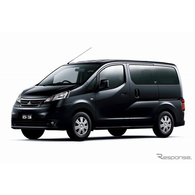 三菱自動車は、5ナンバーミニバン『デリカD:3』と小型商用車『デリカバン』を一部改良し、1月21日より販売...