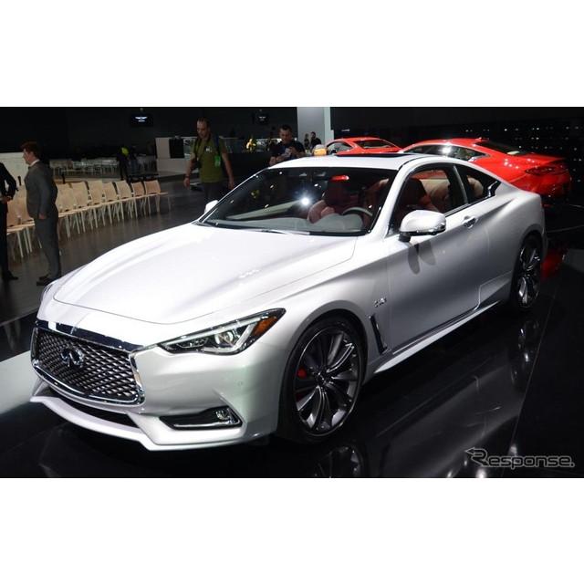 日産自動車の海外向け高級車ブランド、インフィニティが1月11日、米国で開幕したデトロイトモーターショー1...