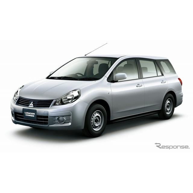三菱自動車は、商用車『ランサーカーゴ』を一部改良し、2月4日より販売を開始した。  今回の改良では、ラ...