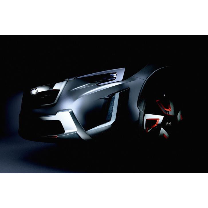 スバルはジュネーブショー2016で「XVコンセプト」を公開する。