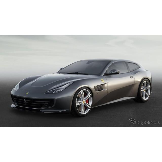 イタリアの高級スポーツカーメーカー、フェラーリは2月8日、『GTC4ルッソ』の概要を明らかにした。実車は3...