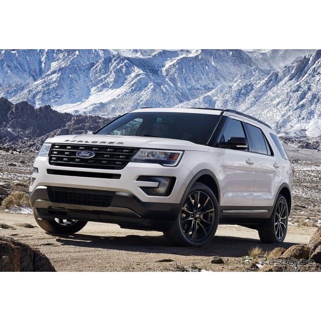 米国の自動車大手、フォードモーターは2月9日、フォード『エクスプローラー』に、「XLTスポーツアピアラン...