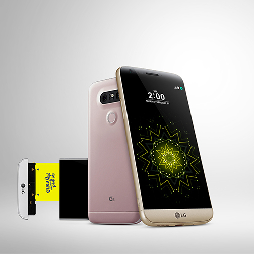「LG G5」イメージ