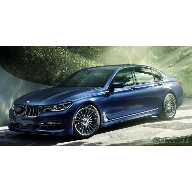 BMWをベースにしたコンプリートカーを手がけるアルピナは2月22日、新型『B7 Bi-Turbo』の概要を明らかにし...