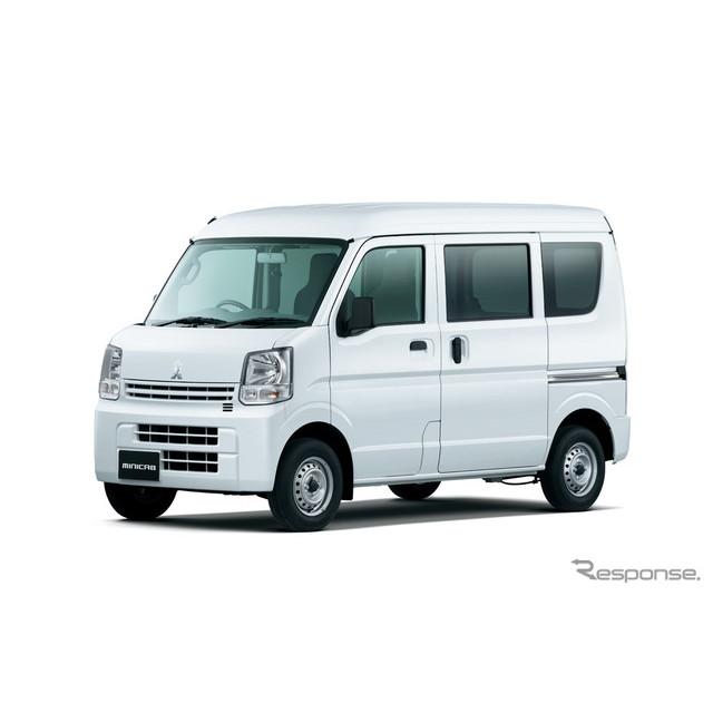 三菱自動車は、軽商用車『ミニキャブ バン』を一部改良し、3月17日より販売を開始した。  今回の改良では...