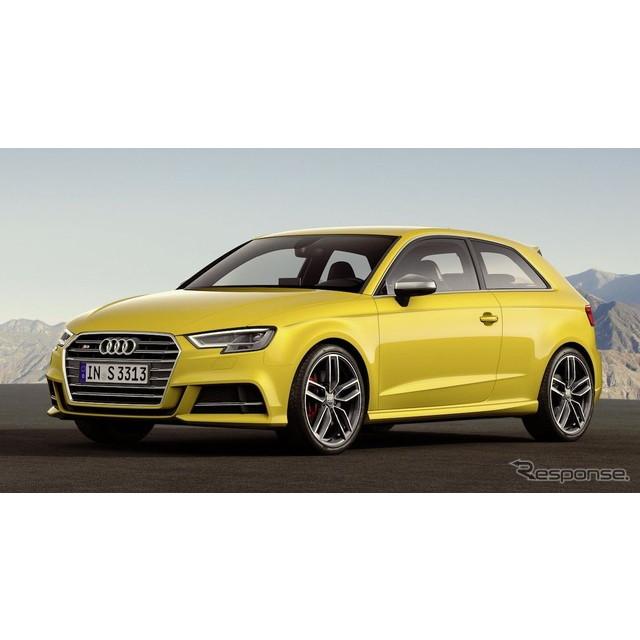 ドイツの高級車メーカー、アウディは4月6日、改良新型『S3』と『S3スポーツバック』を欧州で発表した。  ...
