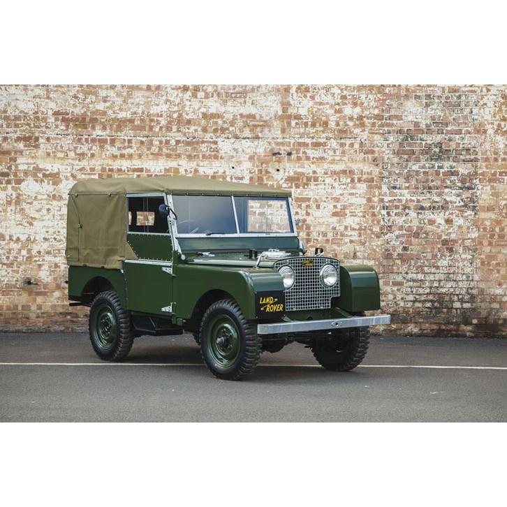 ランドローバーの処女作「シリーズ1」が25台、復元販売される。