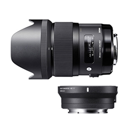 SIGMA 35mm F1.4 DG HSM | Art + SIGMA Mount Converter MC-11キット