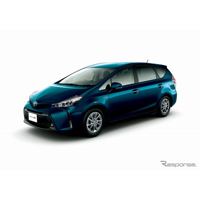 トヨタ自動車は、『プリウスα』に特別仕様車「S チューン ブラックII」を設定し、5月13日より販売を開始し...