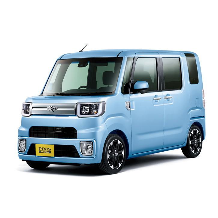 トヨタ自動車は2016年5月17日、軽乗用車「ピクシス メガ」に一部改良を実施するとともに、新グレードの「レ...