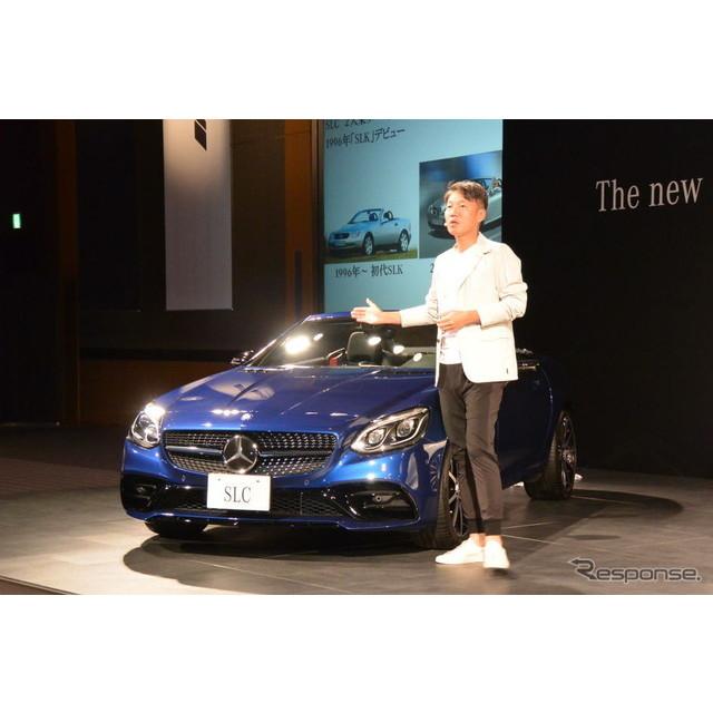 メルセデス・ベンツ日本は6月2日、2シーターオープンモデル『SLC』を発売した。『SLK』の後継モデルで今回...