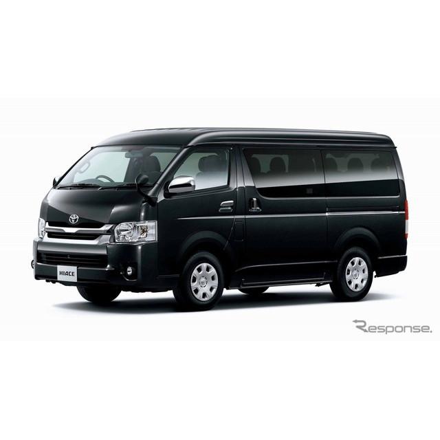 トヨタ ハイエース ワゴンGL(2WD 2700ガソリン)(ブラックマイカ)<オプション装着車>