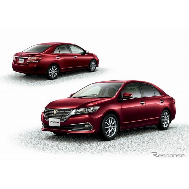 トヨタ自動車は、コンパクトセダン『プレミオ』および『アリオン』をマイナーチェンジし、6月13日より販売...