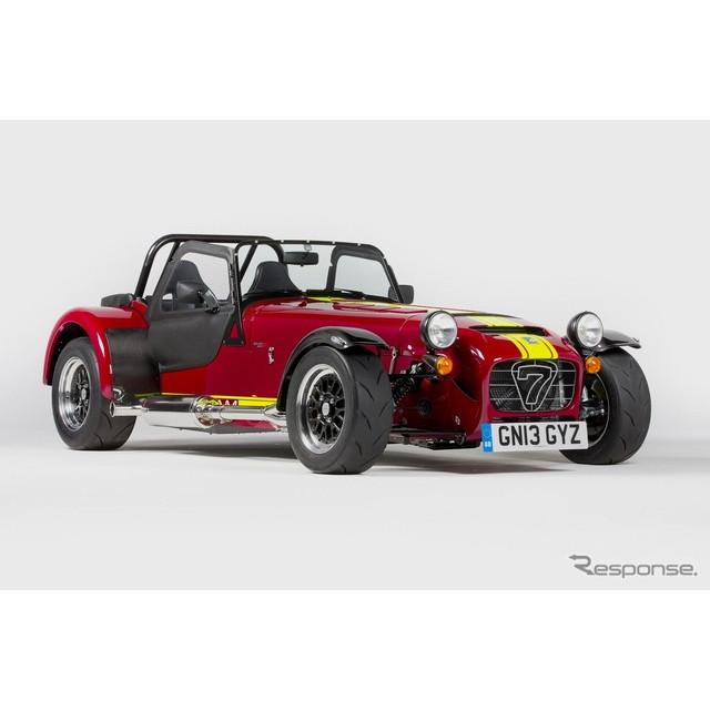 英国のスポーツカーメーカー、ケータハム(ケーターハム)は6月13日、英国で6月23日に開幕する「グッドウッ...