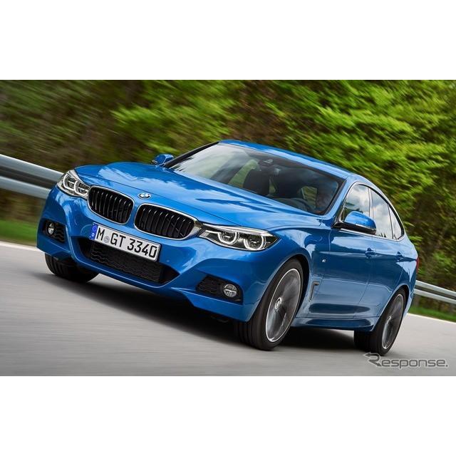 ドイツの高級車メーカー、BMWが6月上旬、欧州で発表した改良新型『3シリーズ グランツーリスモ』。同車に、...