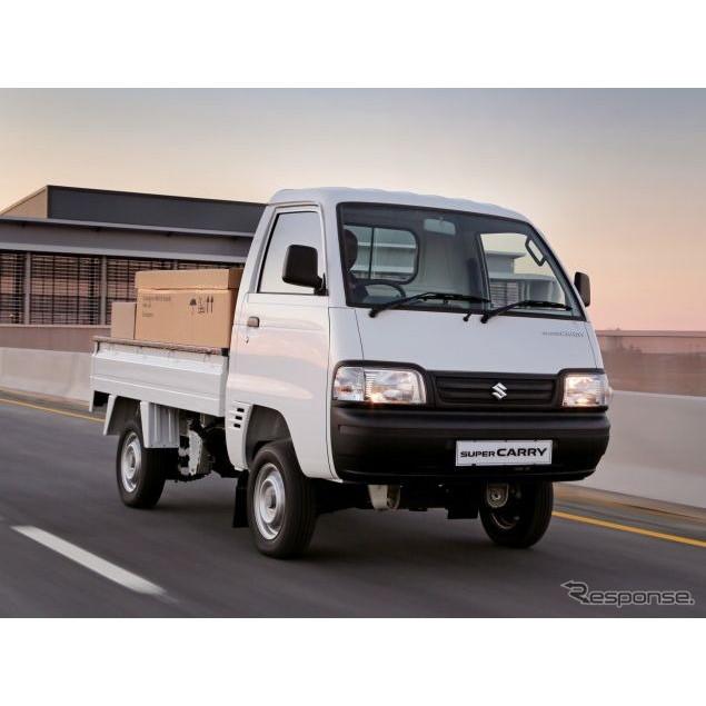 スズキのインド生産・販売子会社で、インド自動車最大手のマルチスズキは、『スーパー キャリイ』の南アフ...