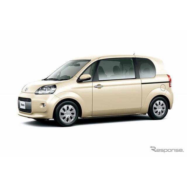 トヨタ自動車は、『ポルテ』と『スペイド』を一部改良し、6月30日に発売した。  今回の一部改良では、プ...