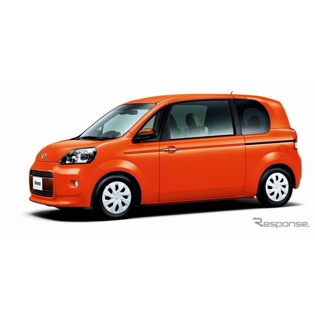 トヨタ自動車は、一部改良を行った『ポルテ』と『スペイド』に特別仕様車を設定、「ポルテ F ア・ラ・モー...