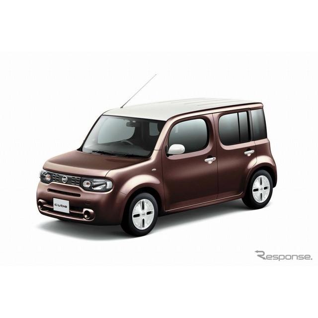 日産自動車は、コンパクトトールワゴン『キューブ』の一部仕様を向上し、7月1日より販売を開始した。  今...