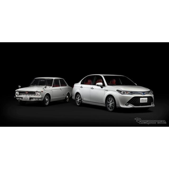 トヨタ自動車は、『カローラアクシオ』にカローラ生誕50年を記念した特別仕様車「ハイブリッドG 50リミテッ...