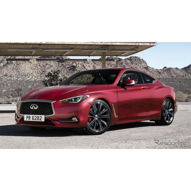 日産自動車の海外向け高級車ブランド、インフィニティは7月28日、新型『Q60』(日本名:次期日産『スカイラ...