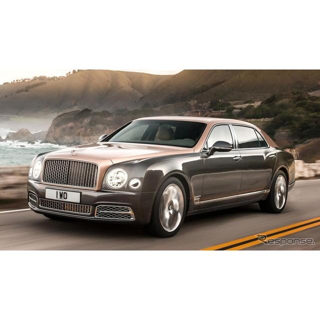 英国の高級車メーカー、ベントレーは8月16日、米国カリフォルニア州で8月中旬に開催される「モンテレー・カ...