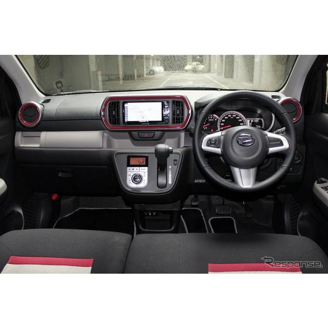 トヨタ『パッソ』とダイハツ『ブーン』のインテリアは、使いやすく機能的で、かつ軽快感と広々感を意識して...