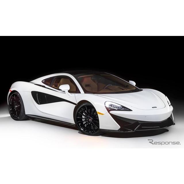 英国の高級スポーツカーメーカー、マクラーレンオートモーティブは8月17日、米国カリフォルニア州で8月19日...