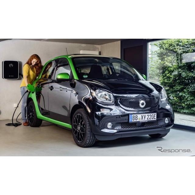 ドイツの高級車、メルセデスベンツ傘下のスマートは9月22日、フランスで9月29日に開幕するパリモーターショ...