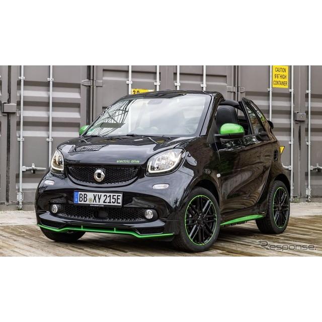 ドイツの高級車、メルセデスベンツ傘下のスマートは9月29日(日本時間9月29日夕方)、フランスで開幕するパ...