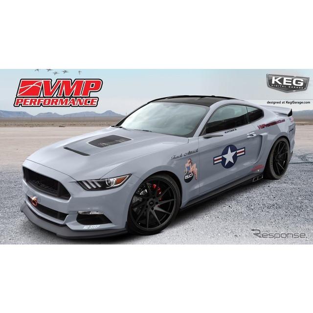 米国の自動車大手、フォードモーターは11月1日、米国ラスベガスで開幕するSEMAショー16において、新型フォ...