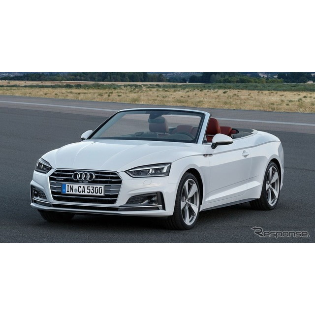 ドイツのアウディは11月4日、新型『A5カブリオレ』を欧州で発表した。  新型『A5』シリーズについては、2...