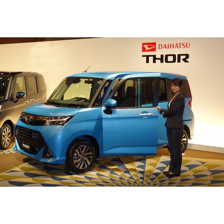 ダイハツ工業は2016年11月9日、新型小型乗用車「トール」「トールカスタム」を発表し、販売を開始した。 ...