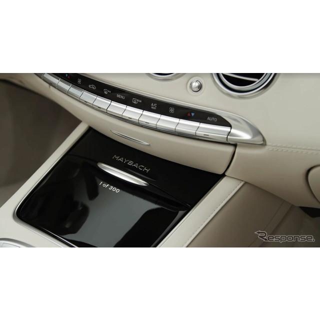 メルセデスベンツの高級車ブランド、メルセデスマイバッハが11月16日、ロサンゼルスモーターショー16でワー...