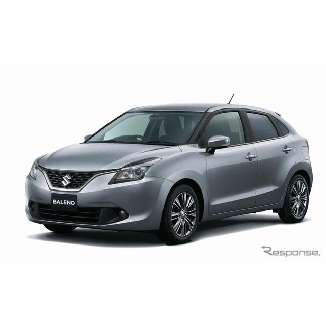スズキはハッチバックタイプの小型乗用車『バレーノ』に新機種「XS」を設定し11月17日より発売する。  バ...