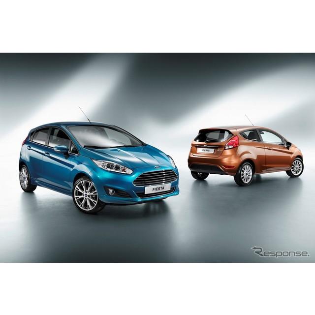 フォードモーターの主力コンパクトカー、フォード『フィエスタ』。同車の新型が、間もなく発表される。  ...
