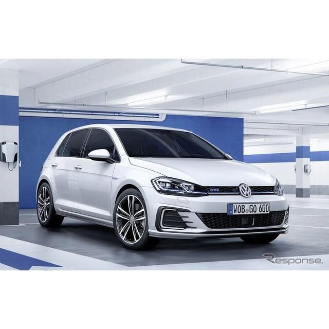 欧州の自動車最大手、フォルクスワーゲンは11月中旬、『ゴルフGTE』の改良新型モデルを欧州で発表した。 ...