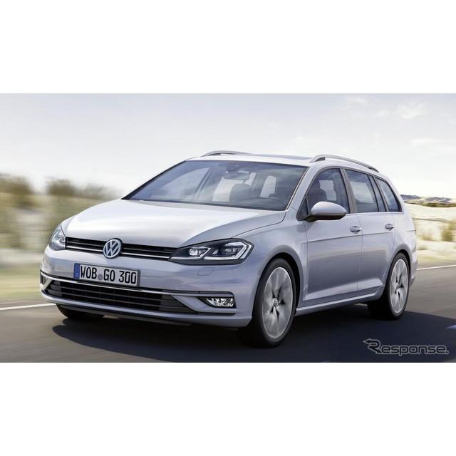 欧州の自動車大手、フォルクスワーゲンは11月中旬、『ゴルフ ヴァリアント』の改良新型モデルを欧州で発表...
