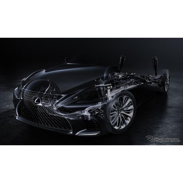 レクサスは12月8日、米国で2017年1月に開催されるデトロイトモーターショー17において、新型『LS』を初公開...