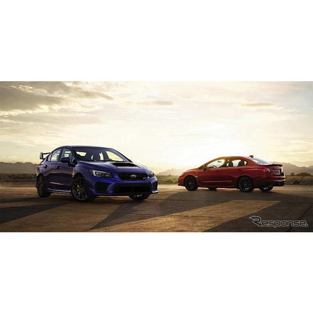 スバル 2018年型WRX/WRX STI(米国仕様車)
