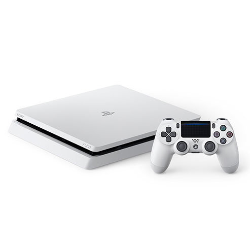 PlayStation 4の「グレイシャー・ホワイト」カラーモデル