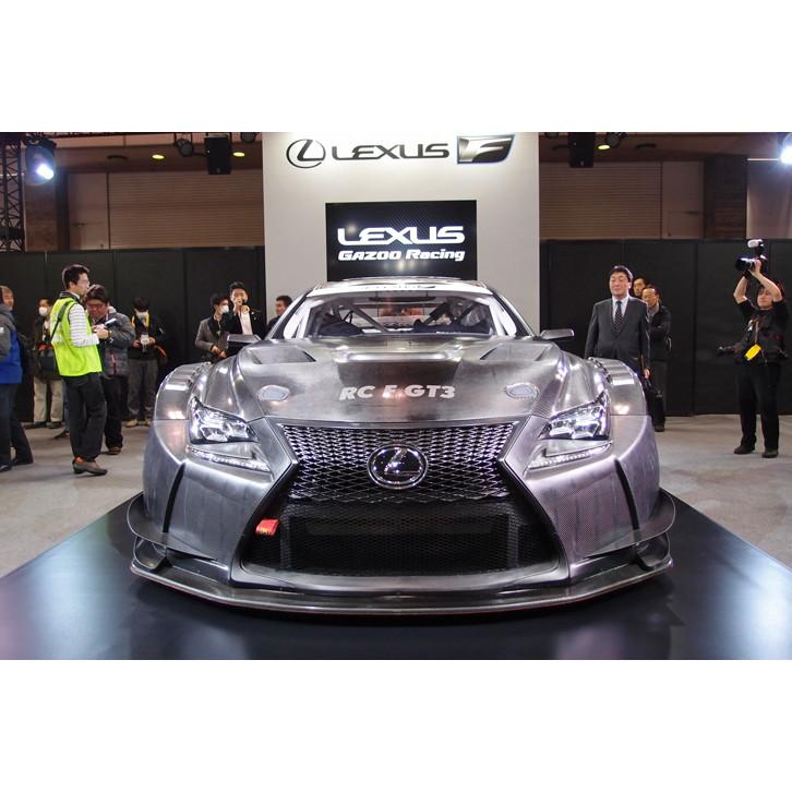GT3カテゴリーのレースを戦う、レクサスのニューマシン「RC F GT3」。