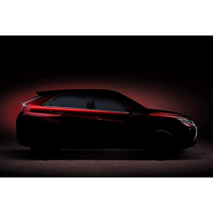三菱自動車はジュネーブショー2017でクーペフォルムのコンパクトSUVを世界初公開する。