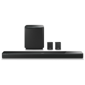 SoundTouch 300 soundbar + Acoustimass 300 bass module + Virtually Invisible 300 wireless surround speakers