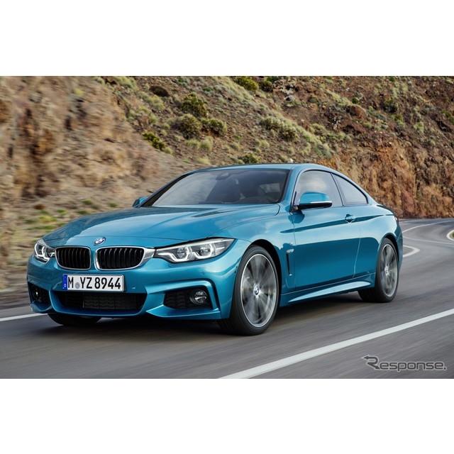 BMWは2月2日、スイスで3月に開催されるジュネーブモーターショー2017において、改良新型『4シリーズクーペ...