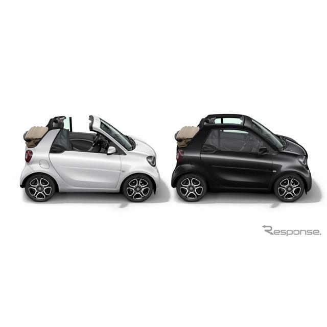 メルセデス・ベンツ日本は、コンパクトオープンモデル、スマート『フォーツー カブリオ』に特別仕様車「マ...