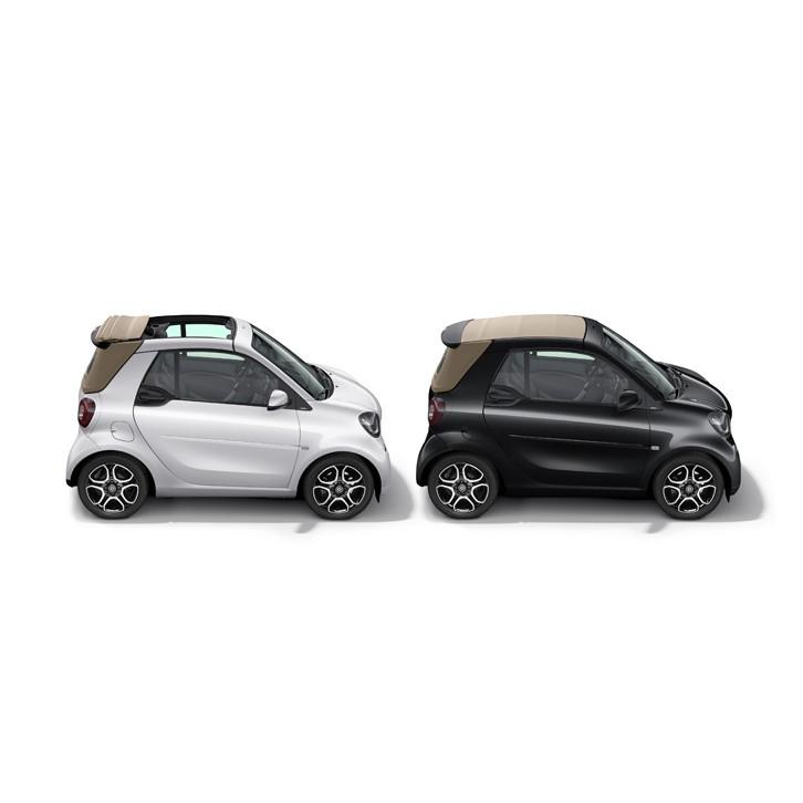 メルセデス・ベンツ日本は2017年2月7日、「スマート・フォーツーカブリオ」の特別仕様車「スマート・カブリ...